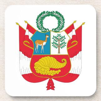 Escudo de armas de Perú Posavaso