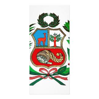 Escudo de armas de Perú Lona Publicitaria