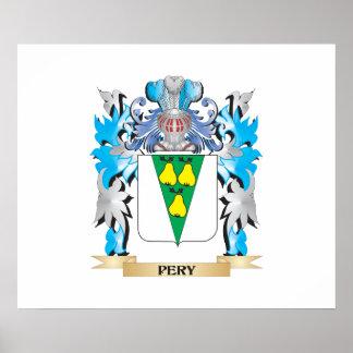 Escudo de armas de Pery - escudo de la familia Poster