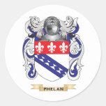 Escudo de armas de Phelan (escudo de la familia) Etiquetas
