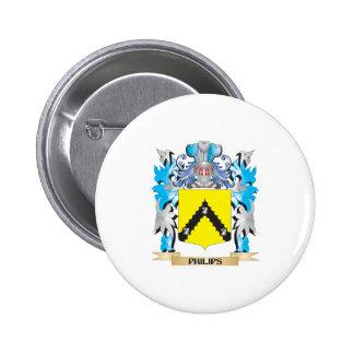 Escudo de armas de Philips - escudo de la familia Pins