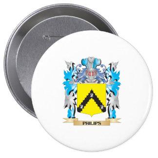 Escudo de armas de Philips - escudo de la familia