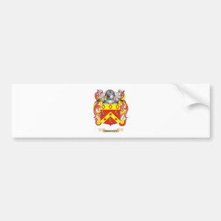 Escudo de armas de Phinney (escudo de la familia) Pegatina De Parachoque