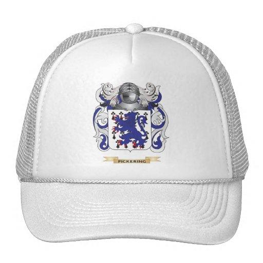 Escudo de armas de Pickering (escudo de la familia Gorros