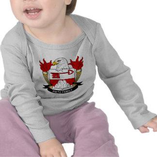 Escudo de armas de Pietz/escudo de la familia Camiseta