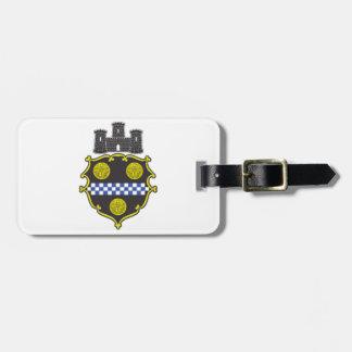 Escudo de armas de Pittsburgh Etiqueta De Equipaje