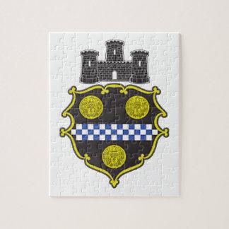 Escudo de armas de Pittsburgh Rompecabezas