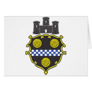Escudo de armas de Pittsburgh Tarjeta