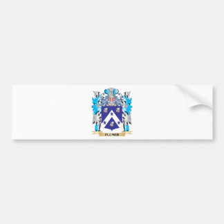 Escudo de armas de Plumer - escudo de la familia Pegatina Para Coche
