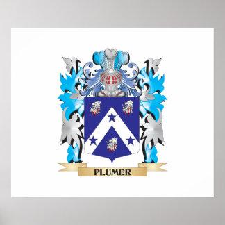 Escudo de armas de Plumer - escudo de la familia Impresiones