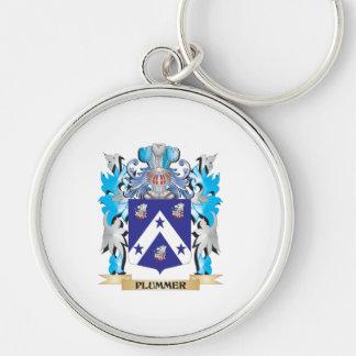 Escudo de armas de Plummer - escudo de la familia Llavero