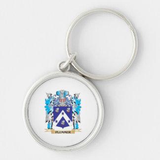 Escudo de armas de Plummer - escudo de la familia Llavero Personalizado