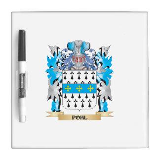Escudo de armas de Pohl - escudo de la familia Tableros Blancos