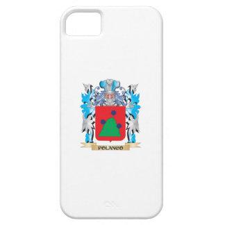 Escudo de armas de Polanco - escudo de la familia iPhone 5 Case-Mate Cárcasa