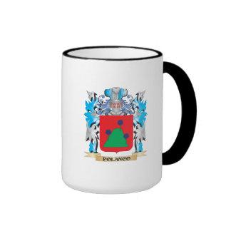 Escudo de armas de Polanco - escudo de la familia Tazas