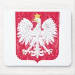 Escudo de armas de Polonia Alfombrillas De Raton