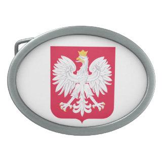 Escudo de armas de Polonia Hebilla De Cinturón