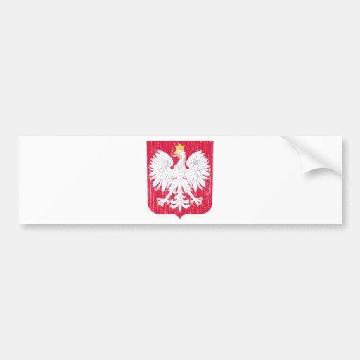 Escudo de armas de Polonia Pegatina Para Auto