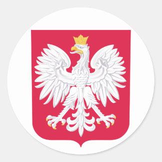 Escudo de armas de Polonia Pegatinas