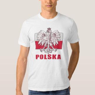 Escudo de armas de Polonia Polska Remeras