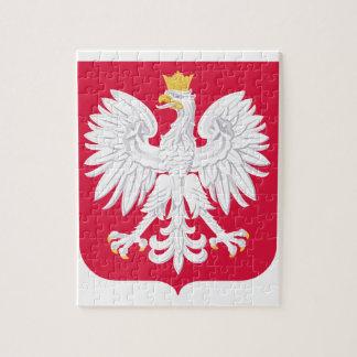Escudo de armas de Polonia Rompecabezas