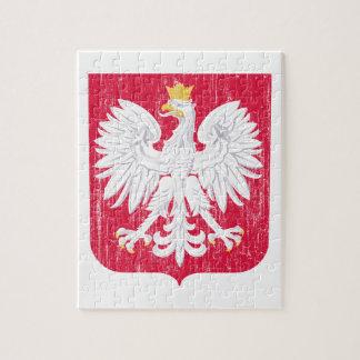 Escudo de armas de Polonia Puzzle Con Fotos