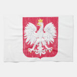 Escudo de armas de Polonia Toalla De Mano