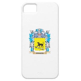 Escudo de armas de Porras - escudo de la familia iPhone 5 Case-Mate Cárcasa