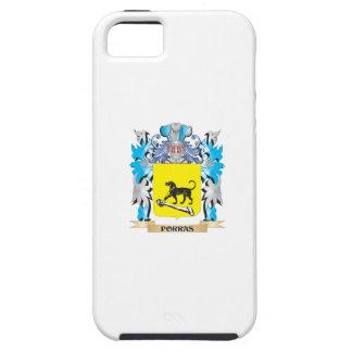 Escudo de armas de Porras - escudo de la familia iPhone 5 Case-Mate Coberturas
