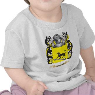 Escudo de armas de Porras (escudo de la familia) Camiseta