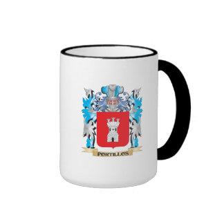 Escudo de armas de Portillos - escudo de la Taza A Dos Colores