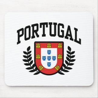 Escudo de armas de Portugal Tapete De Ratón