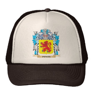 Escudo de armas de Powis - escudo de la familia Gorras