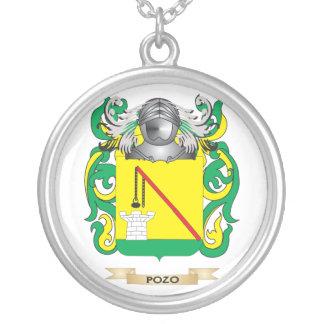 Escudo de armas de Pozo (escudo de la familia) Colgante