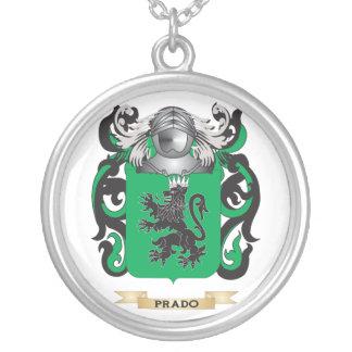 Escudo de armas de Prado (escudo de la familia) Colgante Redondo