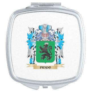 Escudo de armas de Prado - escudo de la familia Espejos De Maquillaje