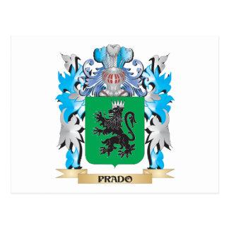 Escudo de armas de Prado - escudo de la familia Postal