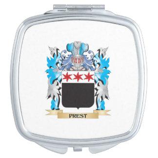 Escudo de armas de Prest - escudo de la familia Espejos De Viaje