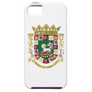 Escudo de armas de Puerto Rico iPhone 5 Funda