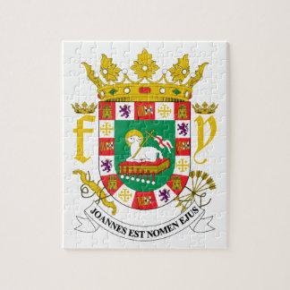 Escudo de armas de Puerto Rico Puzzles