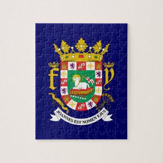 Escudo de armas de Puerto Rico Rompecabeza Con Fotos
