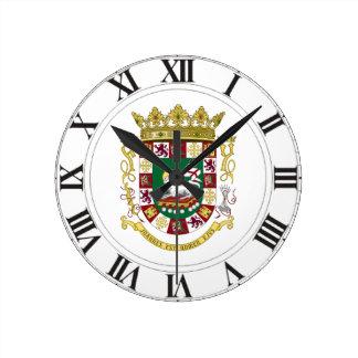 Escudo de armas de Puerto Rico Relojes