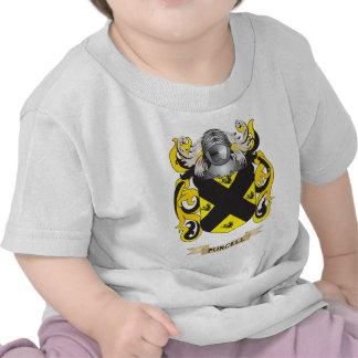 Escudo de armas de Purcell (escudo de la familia) Camisetas