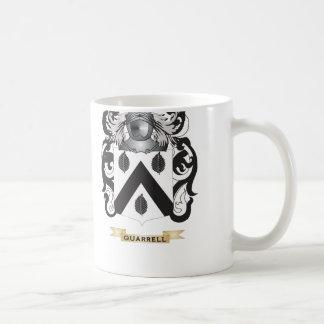 Escudo de armas de Quarrell escudo de la familia Tazas De Café