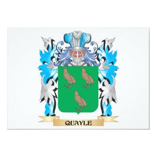 Escudo de armas de Quayle - escudo de la familia