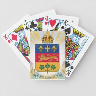 Escudo de armas de Quebec Barajas