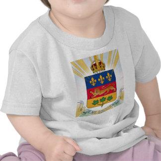 Escudo de armas de Quebec Camisetas