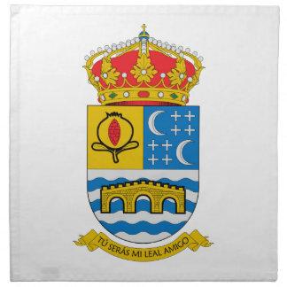 Escudo de armas de Quentar (España) Servilletas Imprimidas
