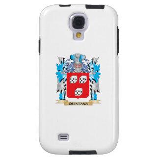 Escudo de armas de Quintana - escudo de la familia Funda Para Galaxy S4