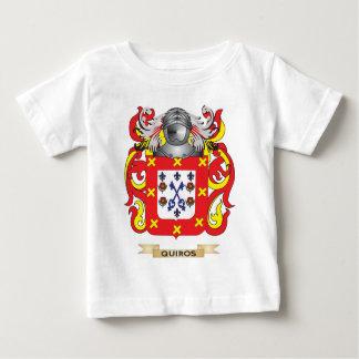 Escudo de armas de Quiros (escudo de la familia) Playera